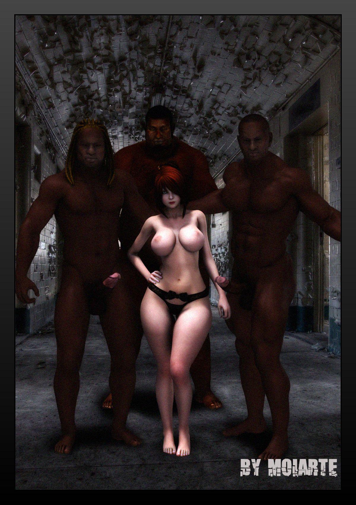 (moiarte) Prison Ladies VII [english]