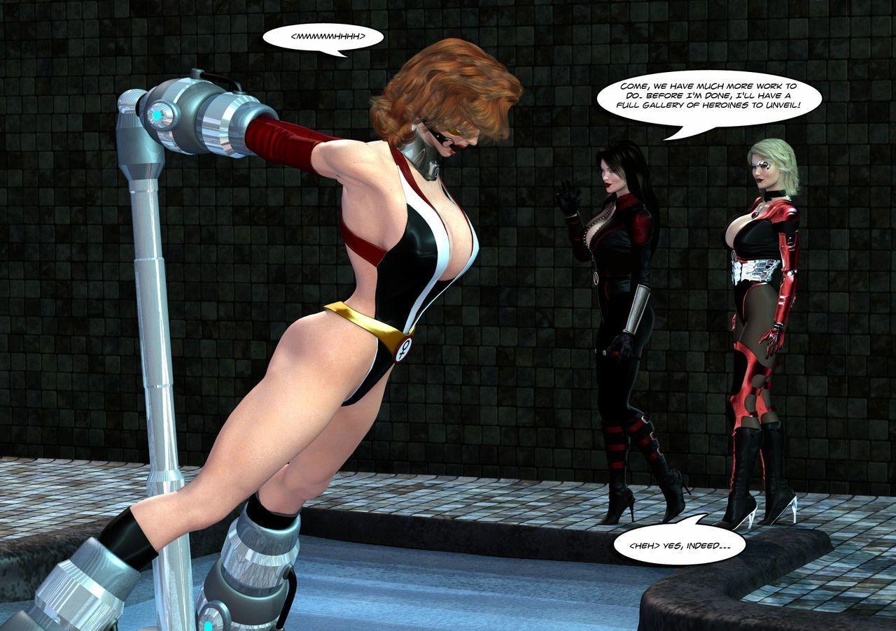 [Uroboros] Legion Of Superheroines 29 - 46 - part 12