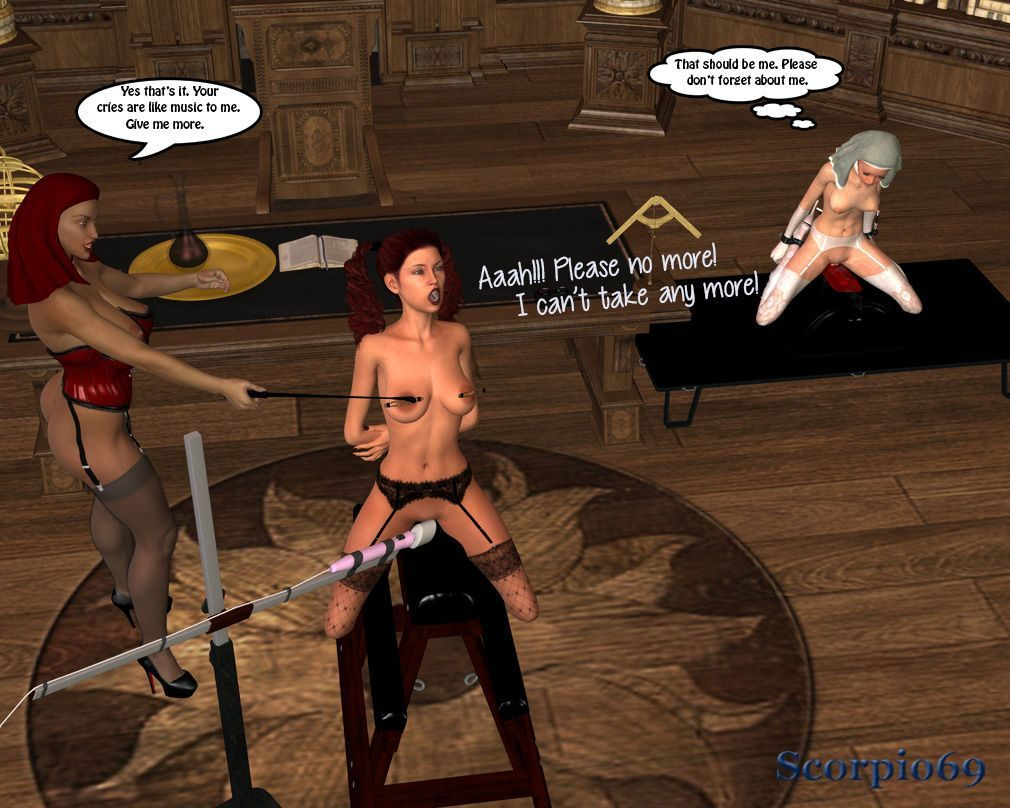 St Anastasia Finishing School- Chap 1: Blu In Peril - part 4