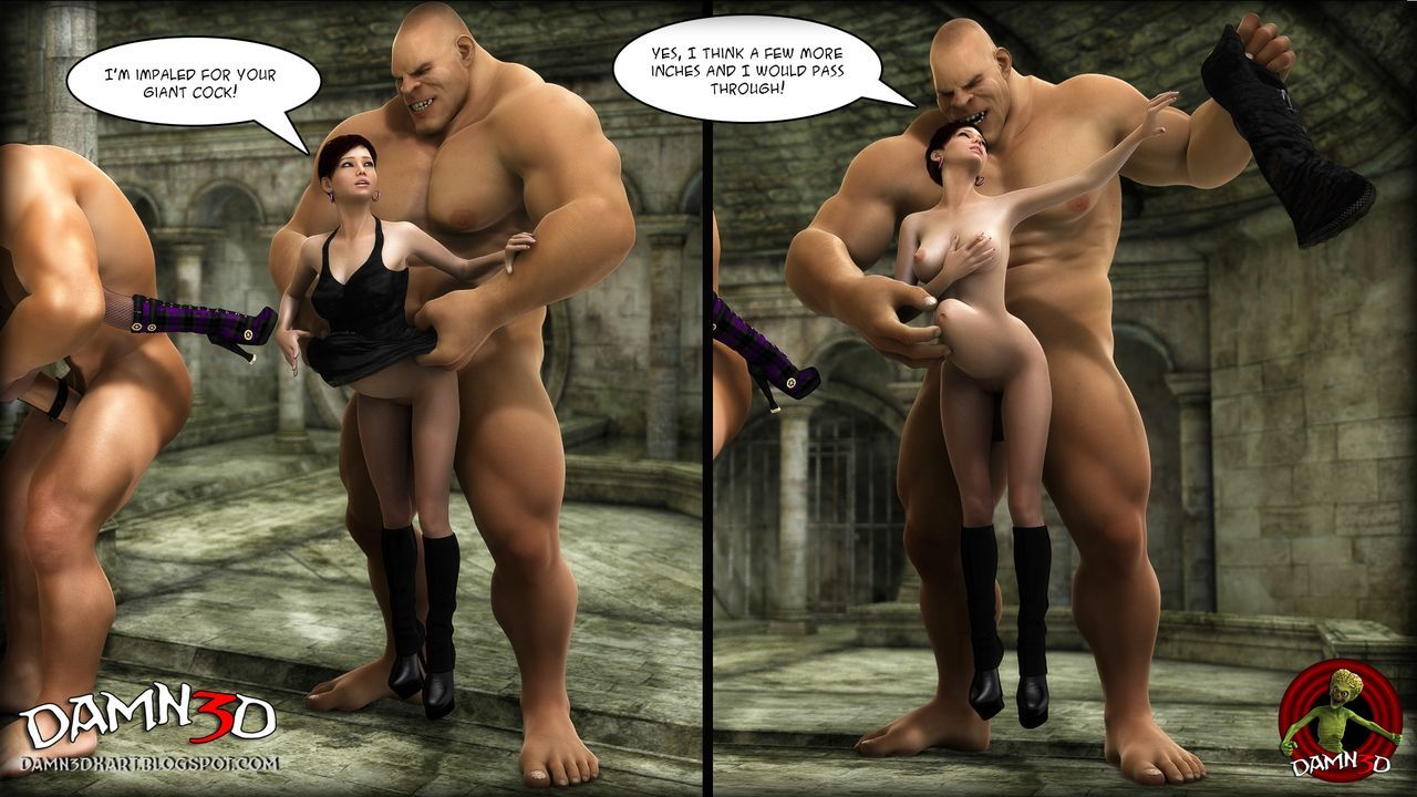 [Damn3d] A giant gift for her birthday - part 2