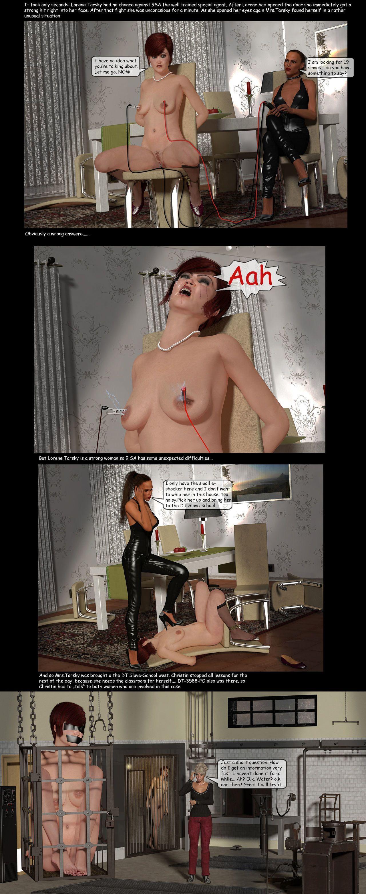 Artist3D Chris63 Dorthy Taylor Bondage slave 2 ongoing