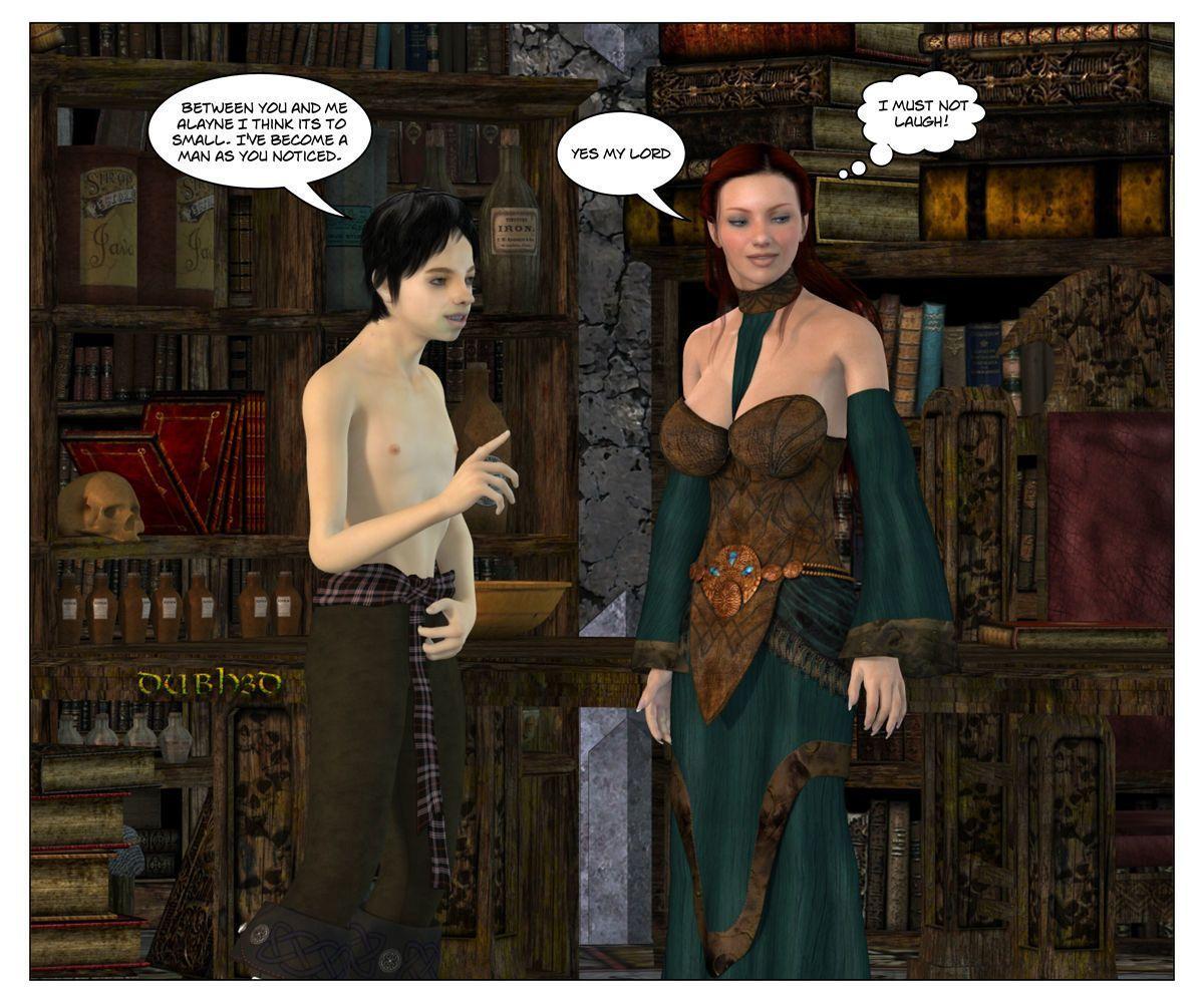 [Dubhgilla] Sansa and Sweet Robin (Game Of Thrones)