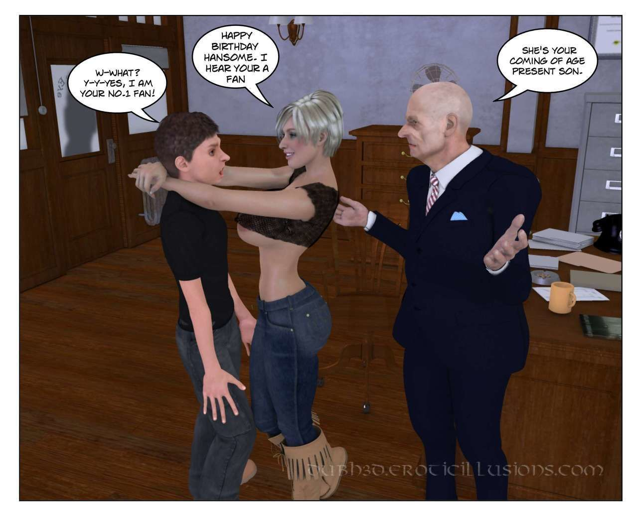 Dubhgilla - Marie Claude - The Proposal And Introduction - part 2