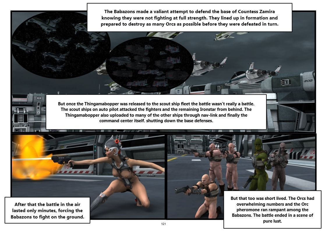 Artist3d Sumgio Babazon Hive ongoing Amazons vrs Orcs completed - part 6