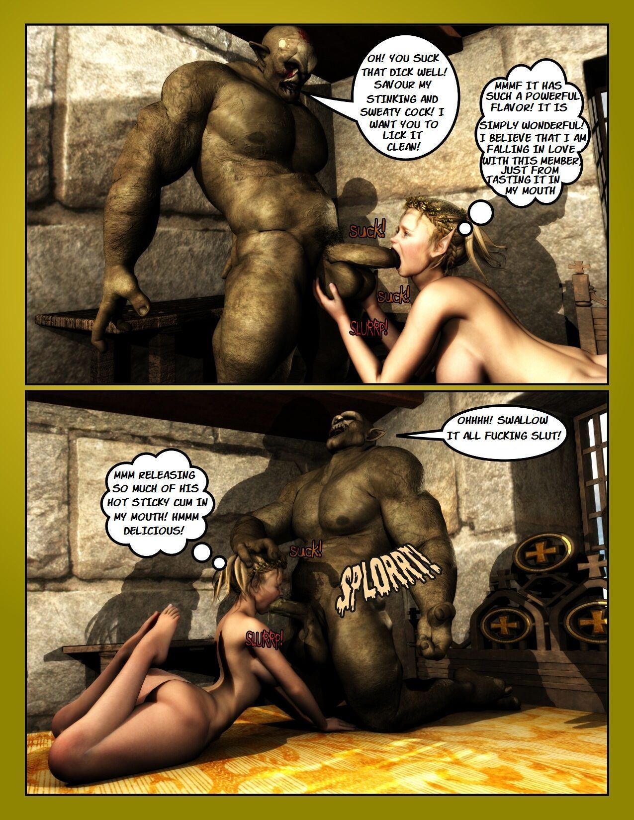 [MOIARTE] THE REWARD OF THE ORCS VOL.3 (ENGLISH) - part 2