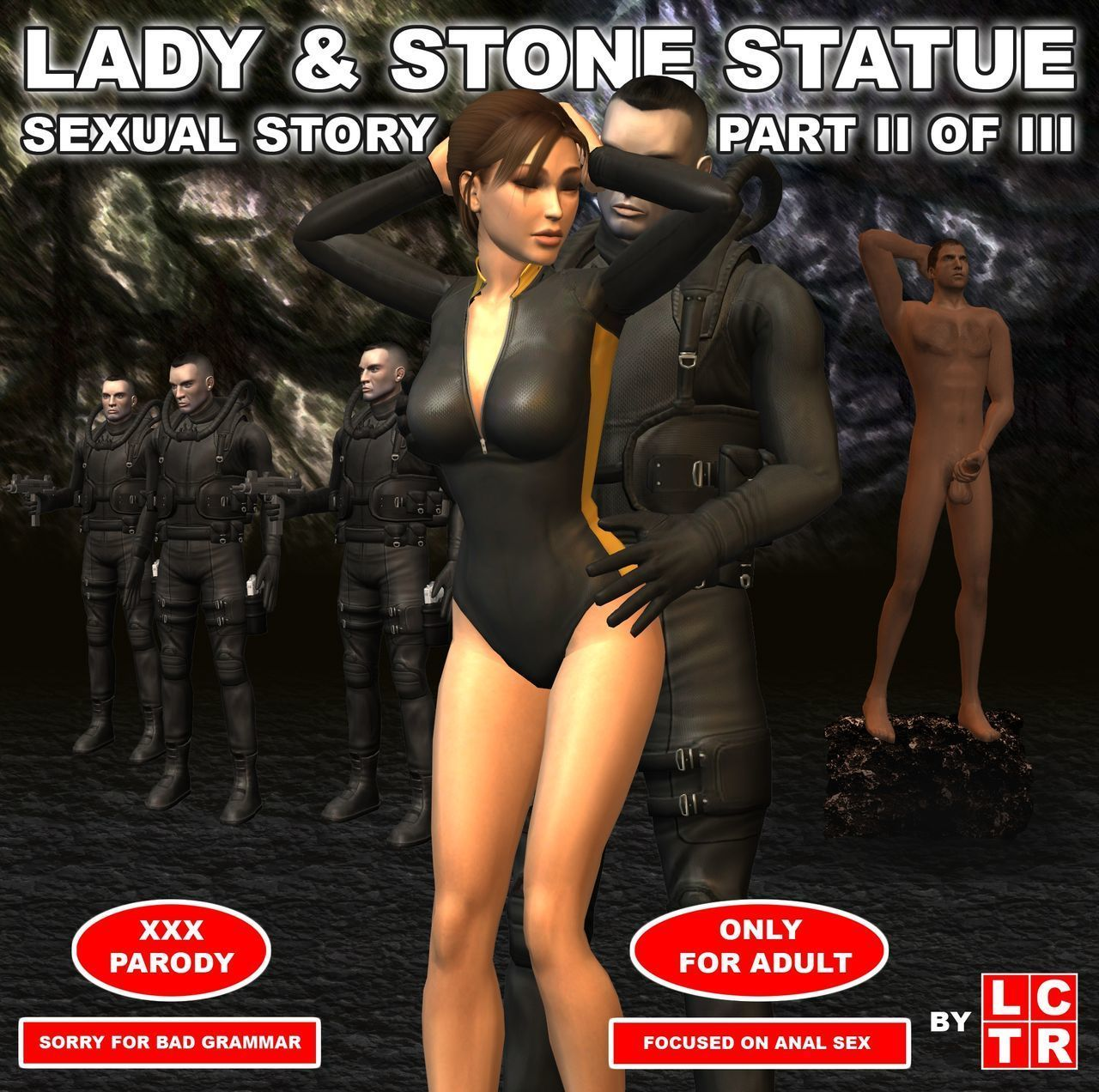 Lady & Stone Statue - Sexual Story Part II of III