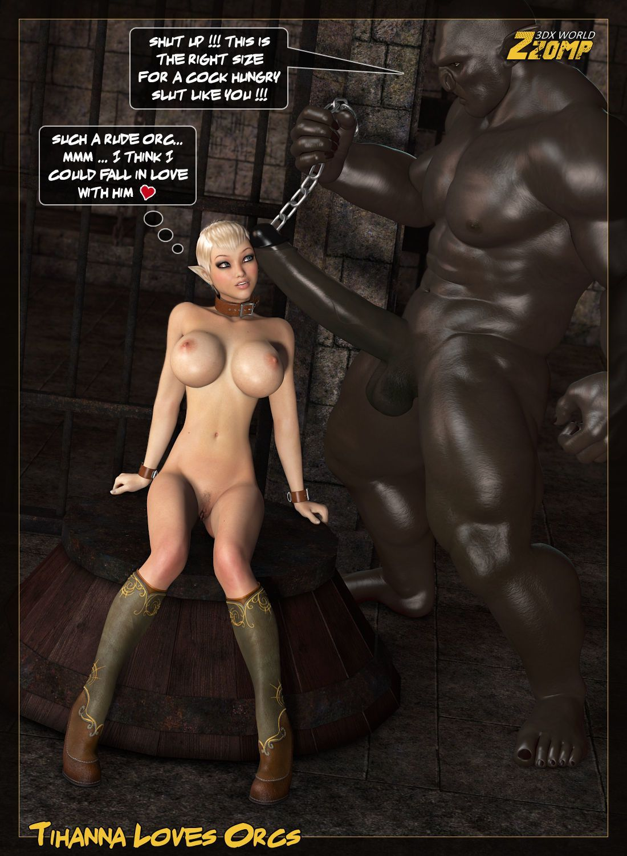 [Zzomp] Tihanna Loves Orcs [Part 3]