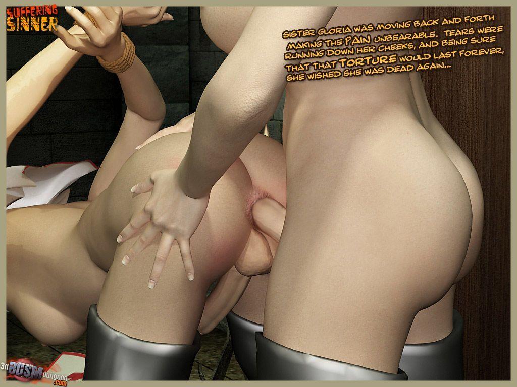 [3DbdsmDungeon] Suffering Sinner - part 2