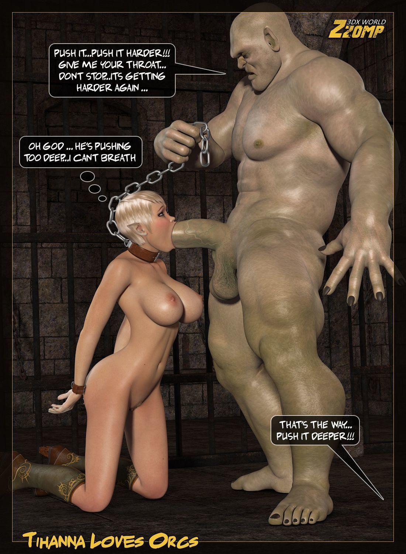 Zzomp] Tihanna Loves Orcs [Part 2] at 3d Sex Pics