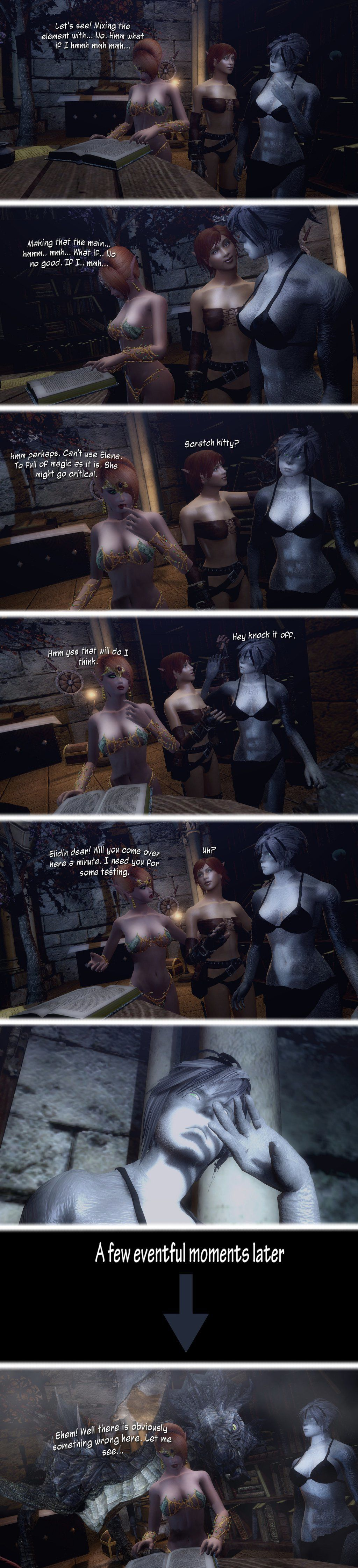 Updated gallery of the works of Rastifan Pt 2 (Comic Shorts) - part 6
