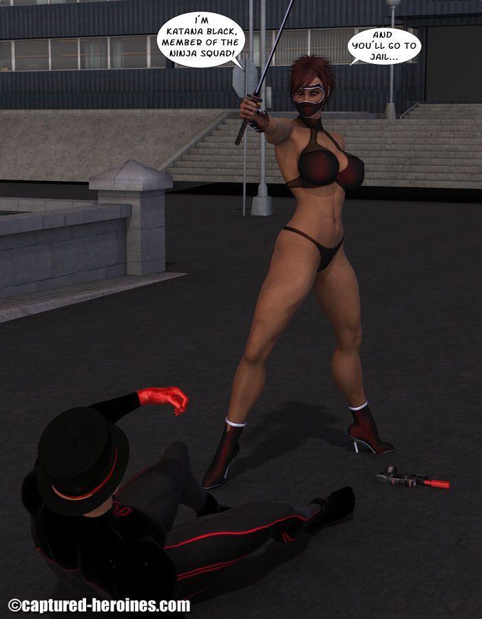 [Captured Heroines] Ninja Squad - Mission Failed - part 2