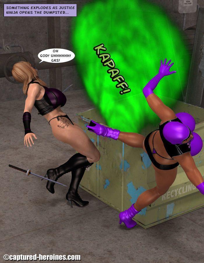 [Captured Heroines] Ninja Squad - Mission Failed - part 3