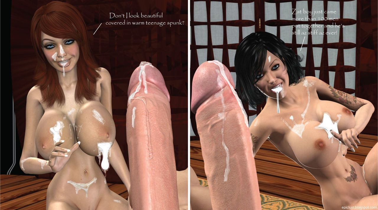 Epic Lust 3 - The Miss MILF and Miss Teen World Cock-a-thon Competition