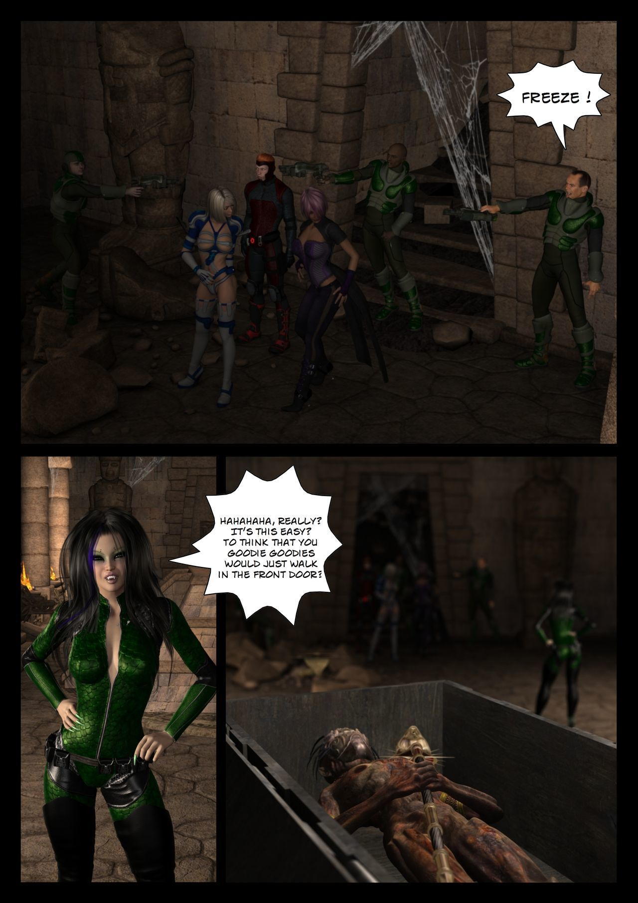 [Shinra-kun] Legion: Thrall of the Mask - Part 1