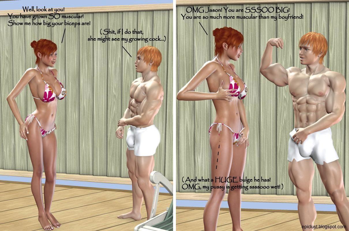Epic Lust 2 - Sister\'s New Bikini