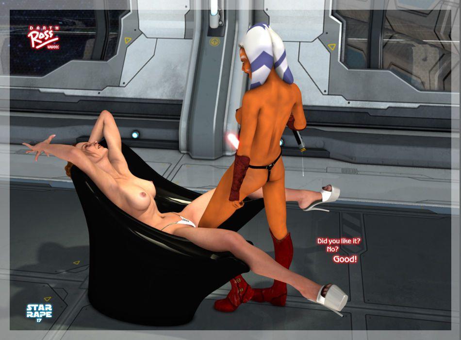 [Darth Ross] Star Rape (Star Wars)