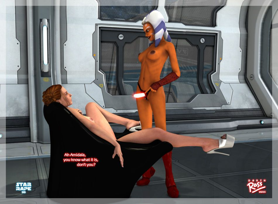 [Darth Ross] Star Rape (Star Wars) - part 2