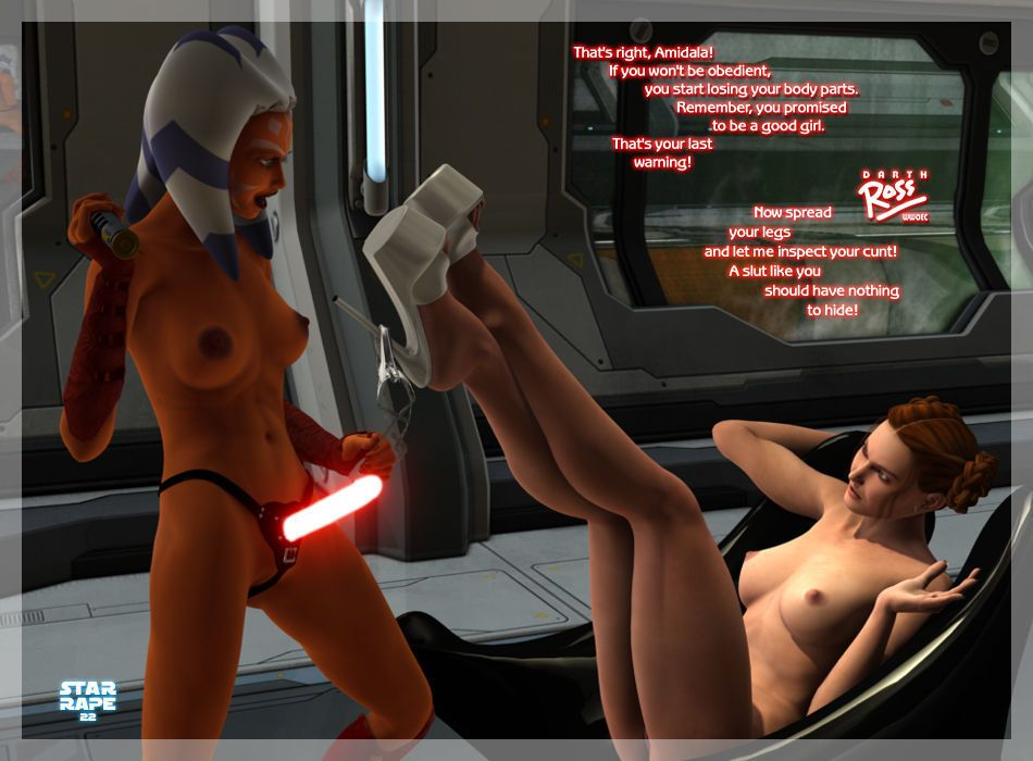 [Darth Ross] Star Rape (Star Wars) - part 2