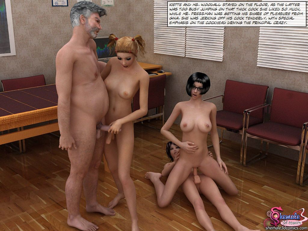 [Shemale3DComics] The Ultimate Sex Therapy - part 5