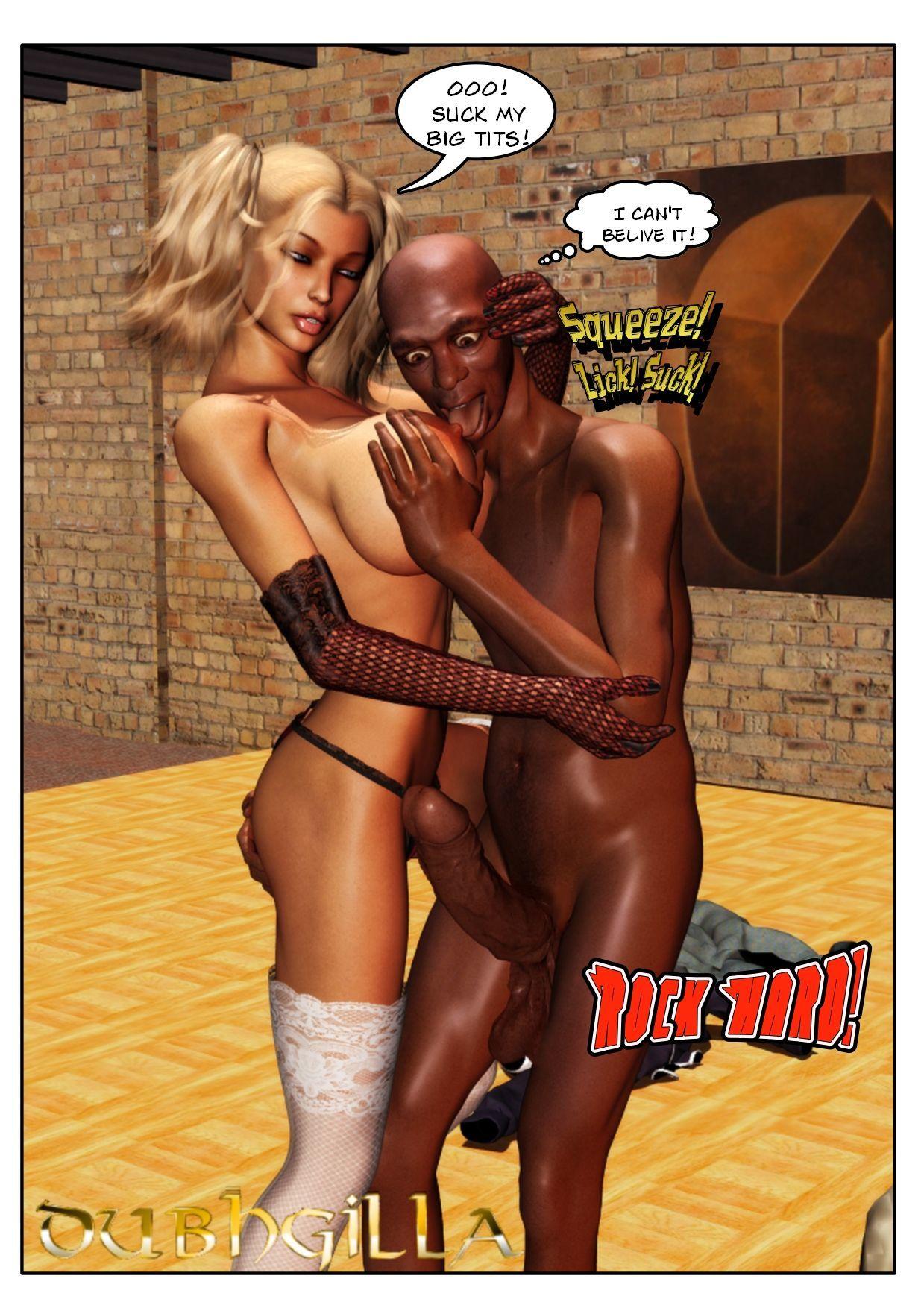 Dughilla - Blonde and Black
