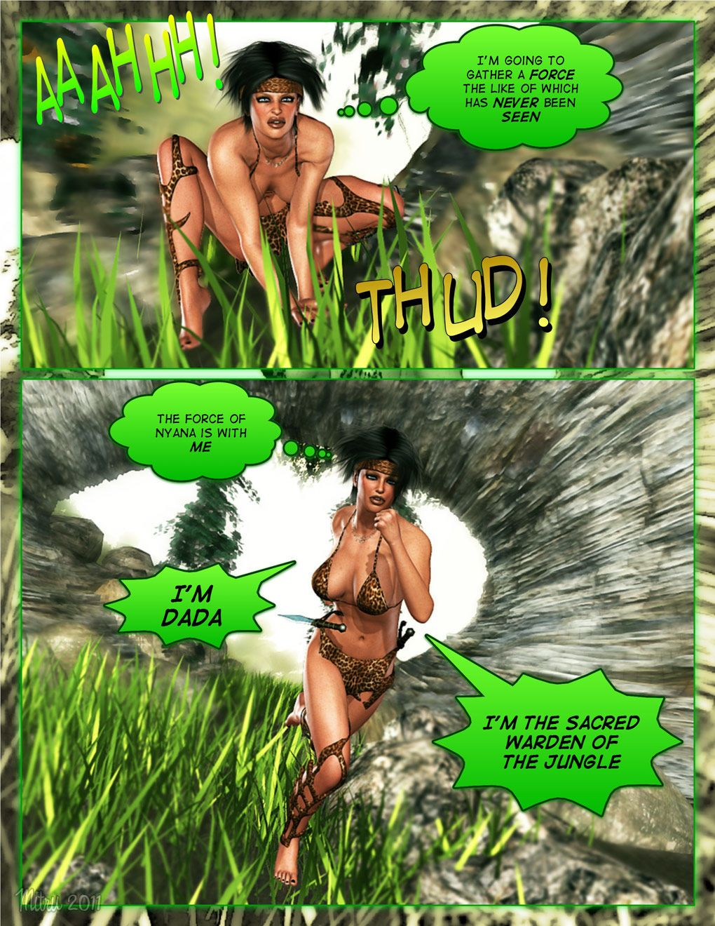 Dada The Jungle Babe - part 15
