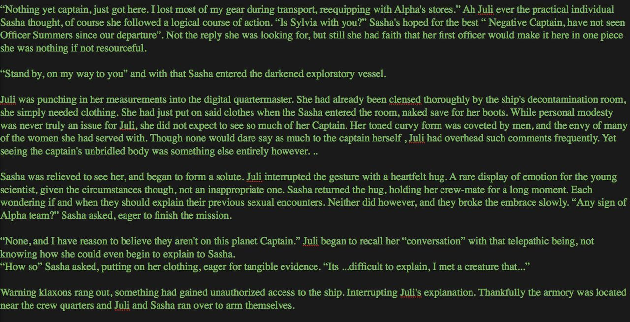 [Dizzydills] Dizzy Interspecies Sex Story Part 7 (Sasha and Juli gangbang) Pics and Written Story