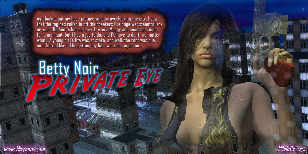 [Midnite] Betty Noir Private Eye - The Kidnapping Caper