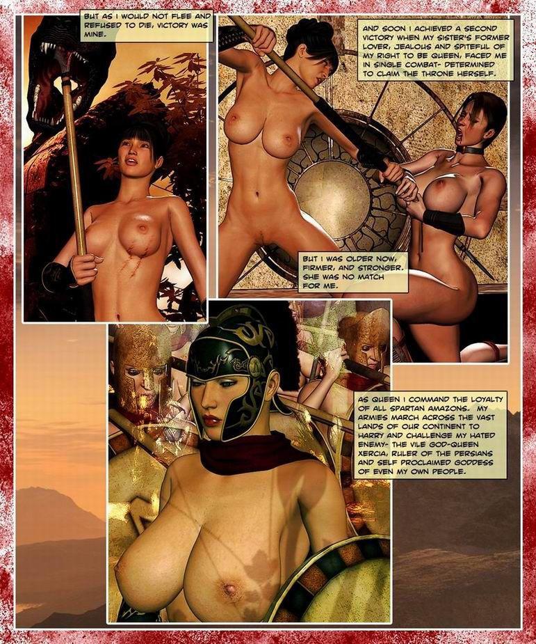 300 Amazons - Queen of Sparta