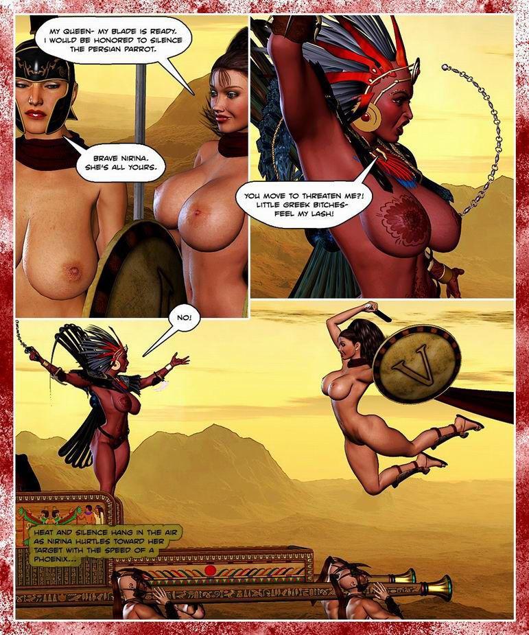300 Amazons - Queen of Sparta - part 2