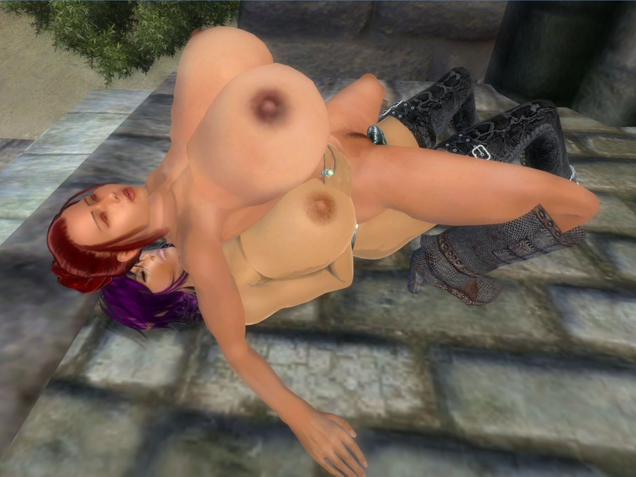 [Chaisy] Oblivion Strap-on Sex (The Elder Scrolls: Oblivion) - part 2