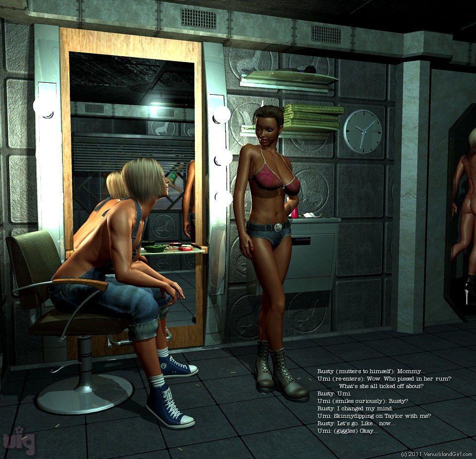 Venus Island Confidential Edition 1 - part 3