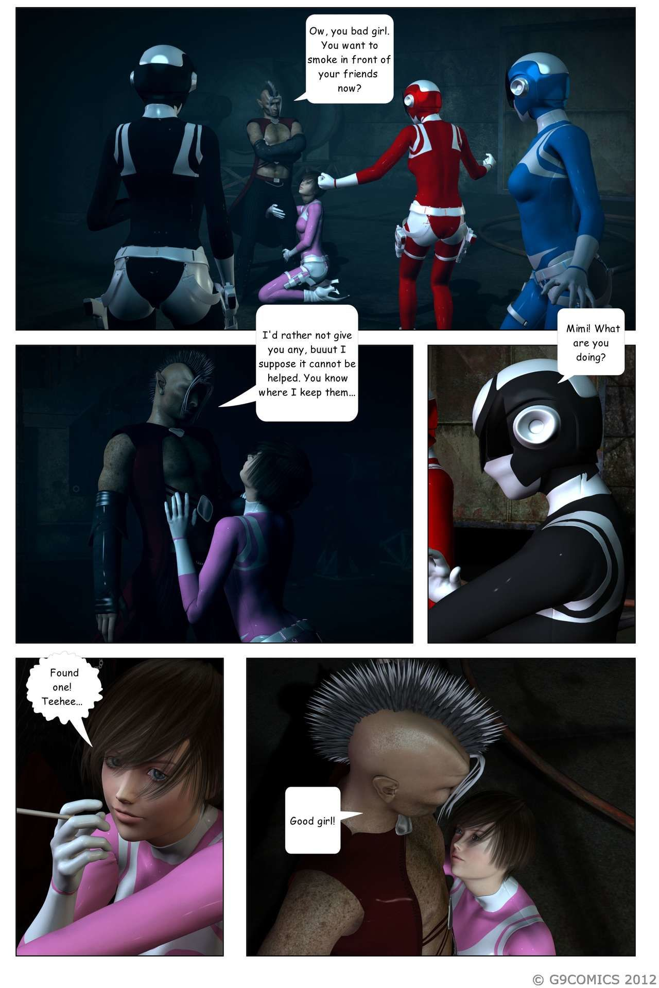 [G9Comics (galford9)] GAIA Rangers (Shadow Rangers 2): Book 4 - part 4