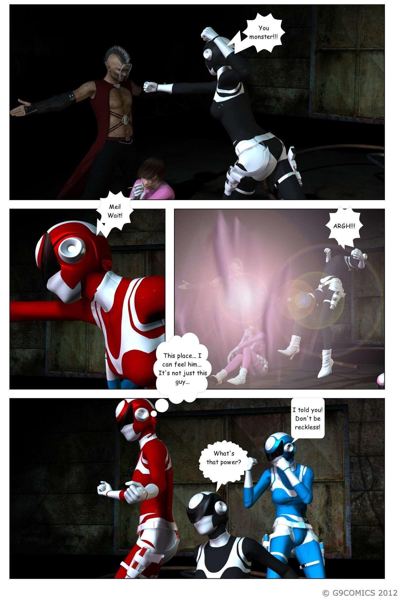 [G9Comics (galford9)] GAIA Rangers (Shadow Rangers 2): Book 4 - part 4