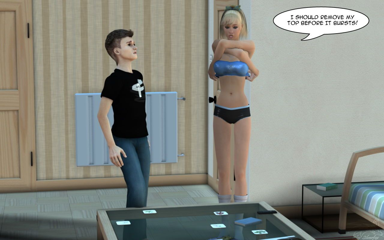 Long Legged Sister - Giantess - MiniGTS - part 2