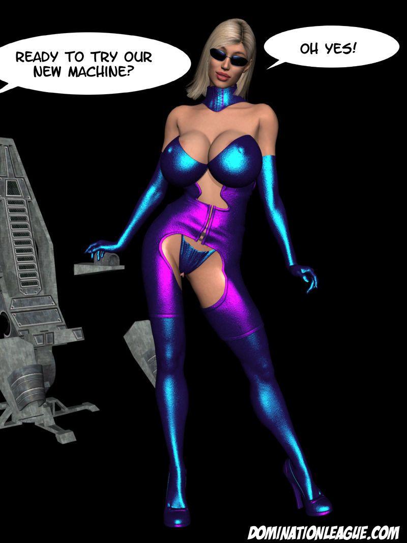 3D Dom. League - Jenna
