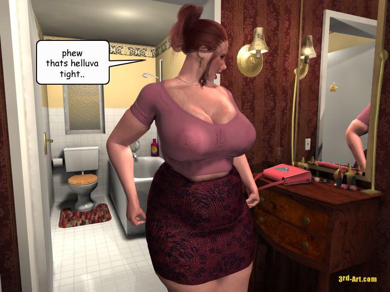 3Darlings Model Nadia eat Donuts - part 3