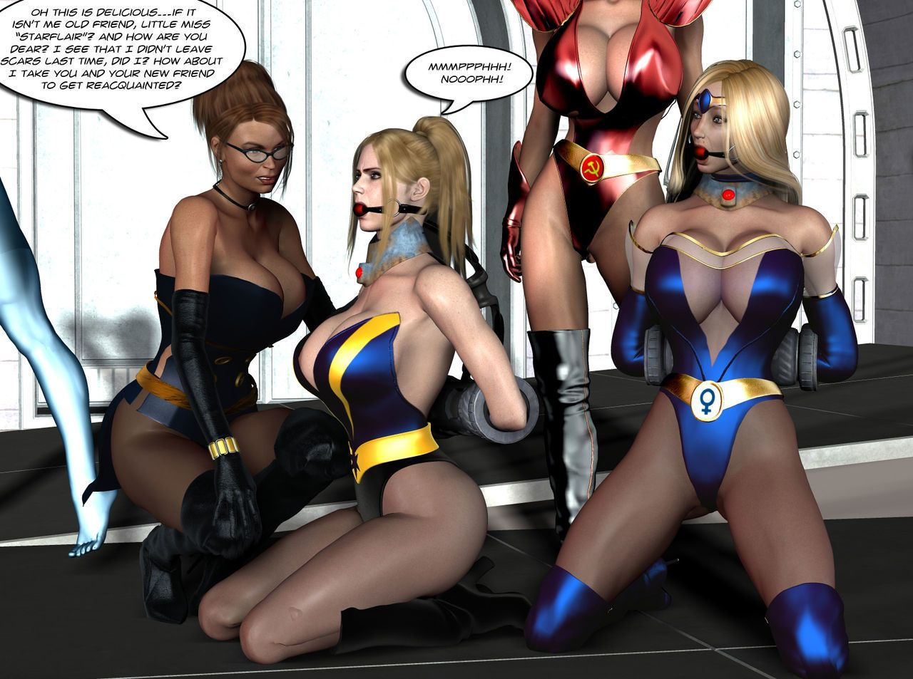 Legion of Super Heroines 04 - Bear Hug