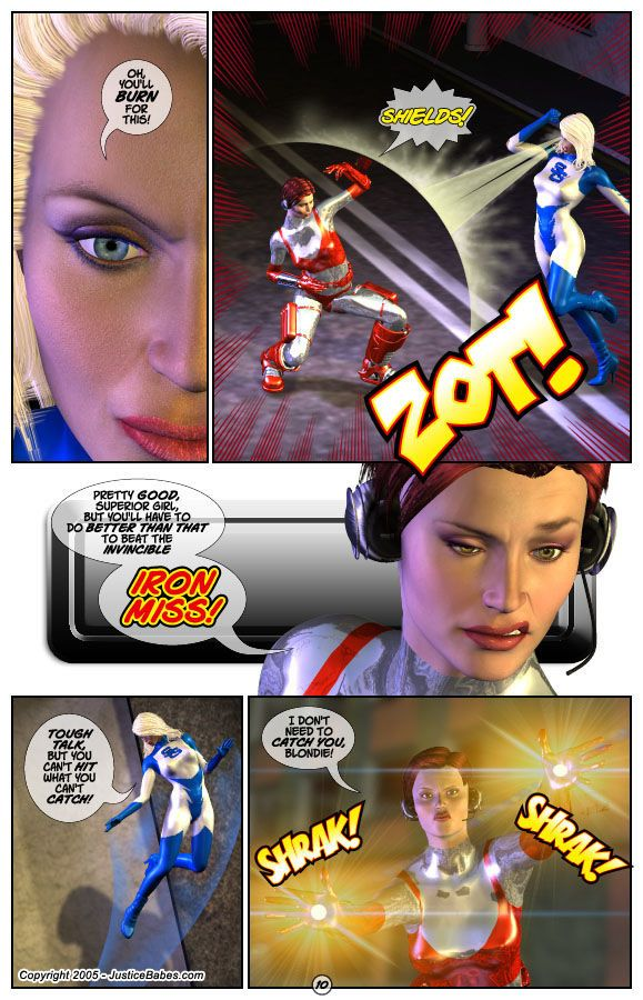 Sidekick Hotline #2 by Justice Babes