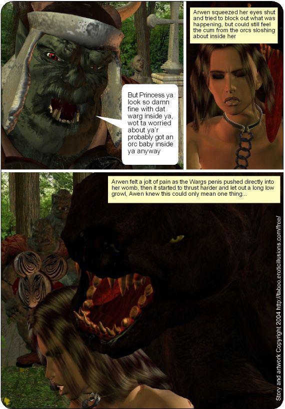 Taboo- Arwen\'s Misadventures (Arwen\'s Secret and Arwen\'s Dread) - part 3