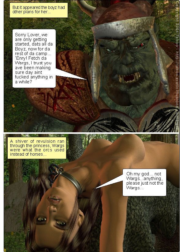 Taboo- Arwen\'s Misadventures (Arwen\'s Secret and Arwen\'s Dread) - part 6