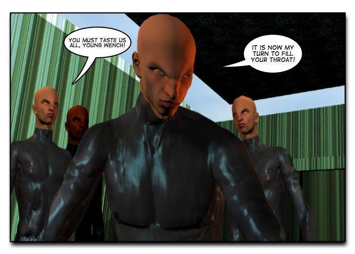 Mindy - Sex Slave On Mars c401-425 - part 4