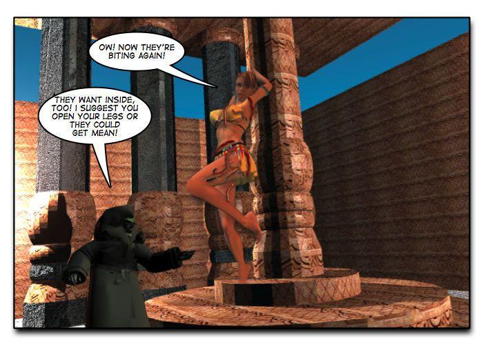 Mindy - Sex Slave On Mars c401-425 - part 7