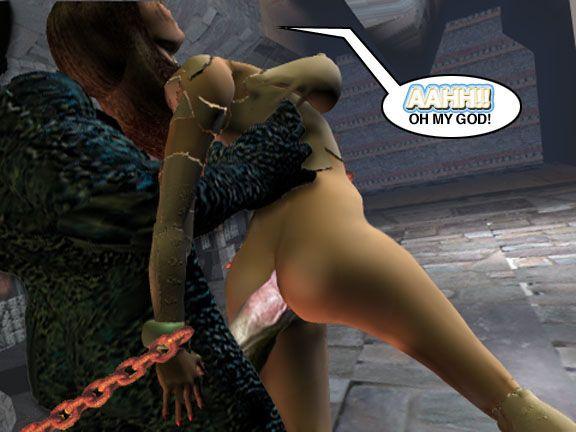 Mindy - Sex Slave On Mars c376-400 - part 3