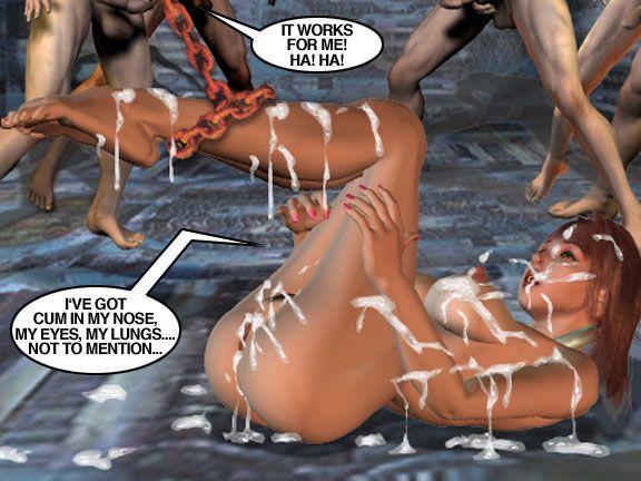Mindy - Sex Slave On Mars c351-375 - part 6