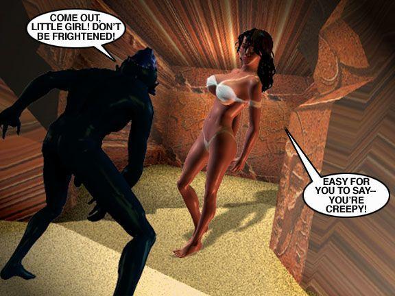 Mindy - Sex Slave On Mars c351-375 - part 7