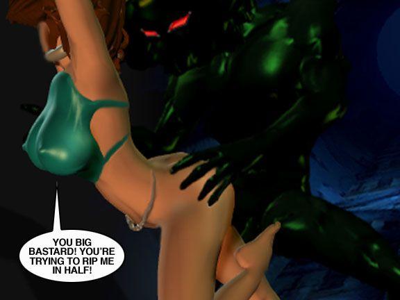 Mindy - Sex Slave On Mars c326-350 - part 5