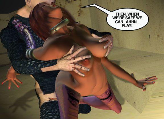Mindy - Sex Slave On Mars c301-325 - part 18