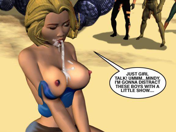 Mindy - Sex Slave On Mars c251-275 - part 3