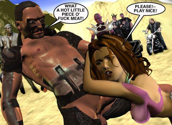 Mindy - Sex Slave On Mars c226-250 - part 3