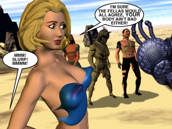 Mindy - Sex Slave On Mars c226-250 - part 18